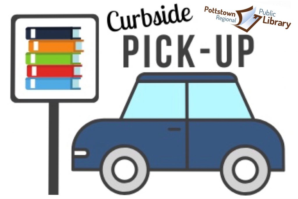 Car showing we offer curbside pickup.