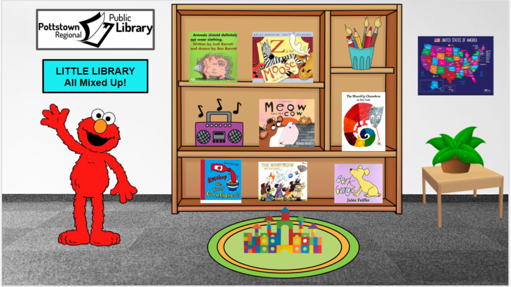 Little Library: All Mixed Up! Image takes you to a Google Slides Presentation.