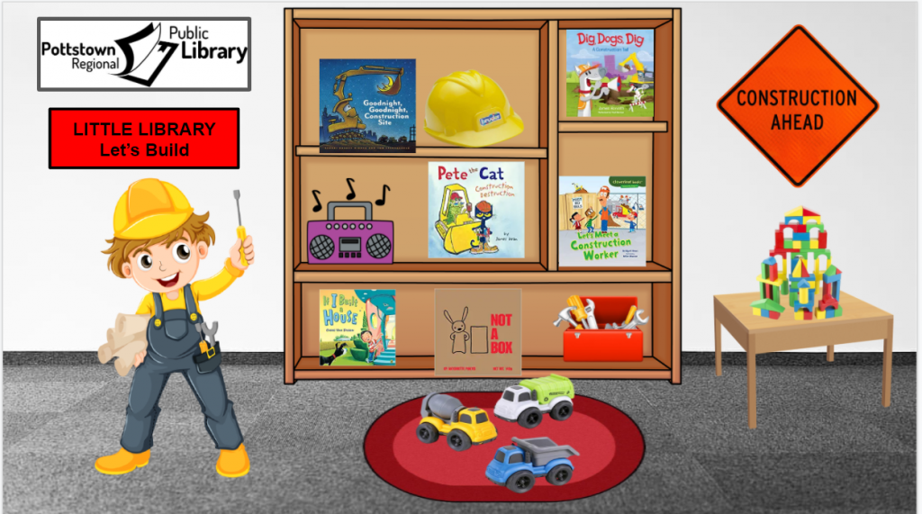 Little library based on Construction. Image takes you to a Google Slides presentation.
