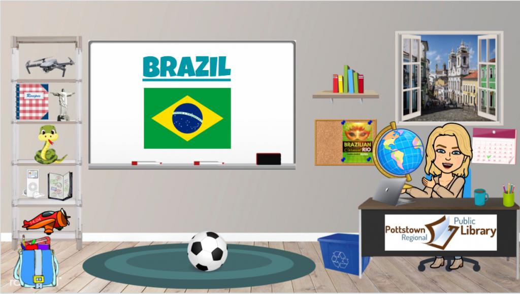 Passports Around the World: Brazil, Link takes you to Google Slides