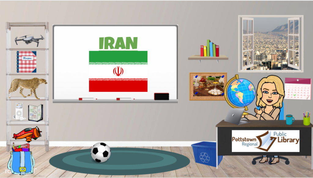 Passport Around the World- Iran Link takes you to Google Slides