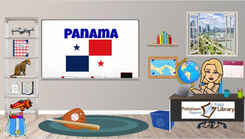 Passports around the World: Panama Link takes you to Google Slides