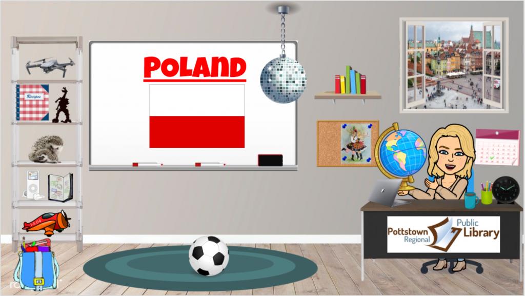 Passports Around the World Poland, Link takes you to Google Slide