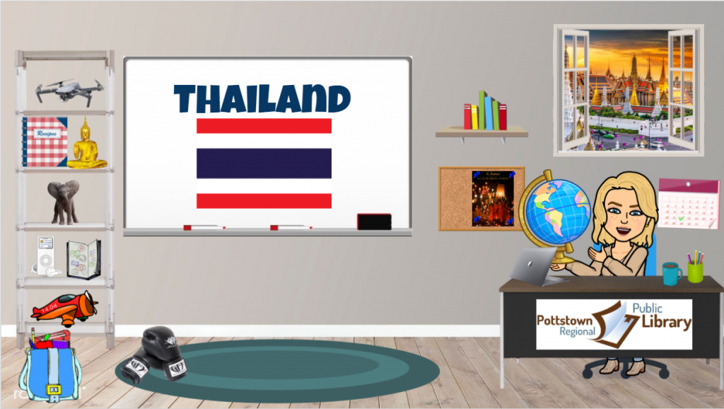 Passport around the world: Thailand, Link takes you to Google Slides