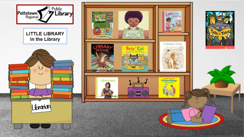 Little library about the library. Link takes you to a google slide presentation.
