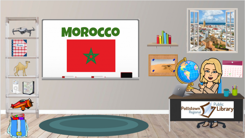 Passports Around the World: Country is Morocco. Link takes you to a Google Slide presentation.