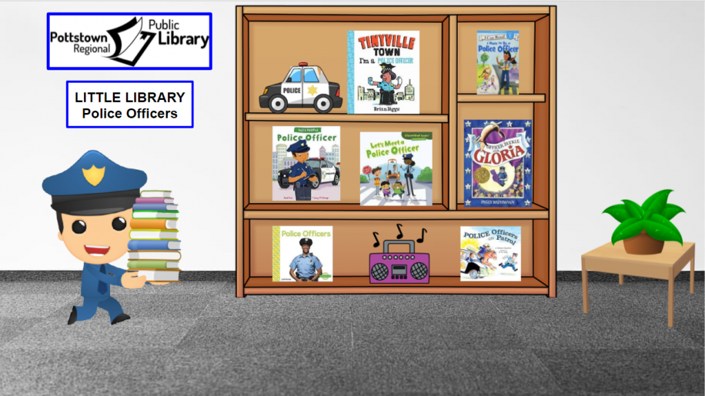 Little library about police officers. Link takes you to google slides presentation.