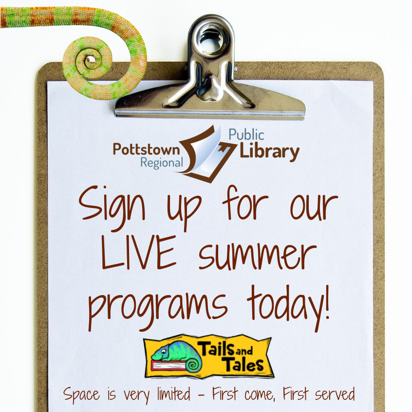 Sign up for Summer reading programs space is limited!