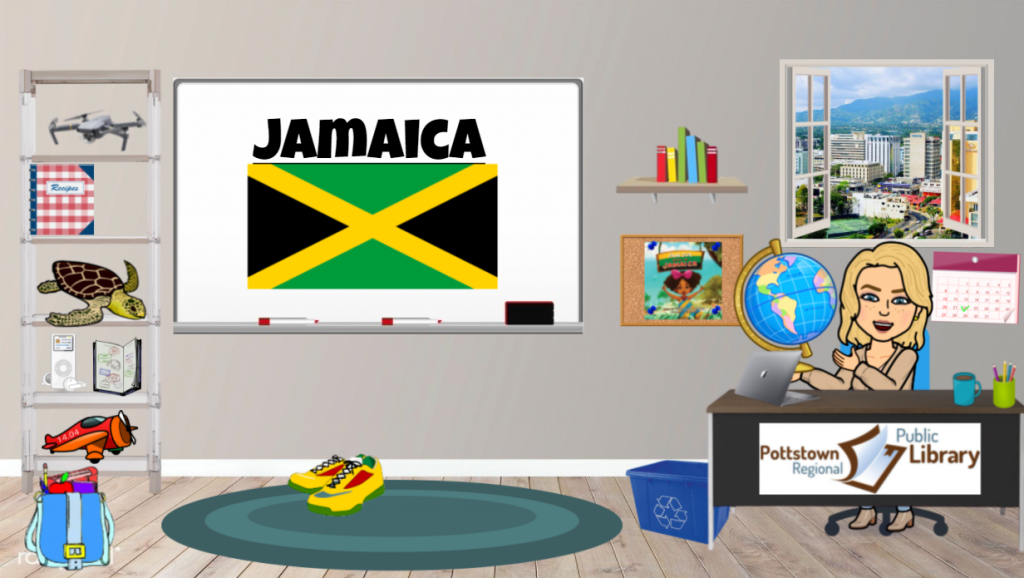 Passports around the World June 2021 is Jamaica. Link takes you to a google slide presentation about the country.